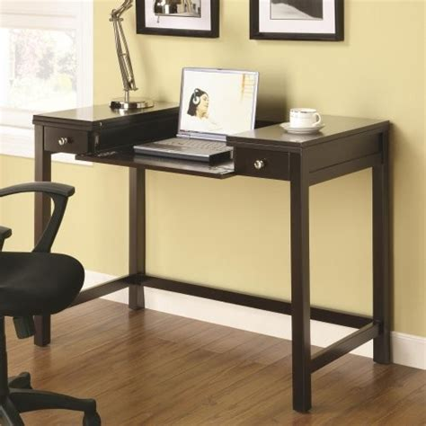 Flip Top Computer Desk Mosi Cappuccino Finish Desk With Flip Top Computer Desks Home Office