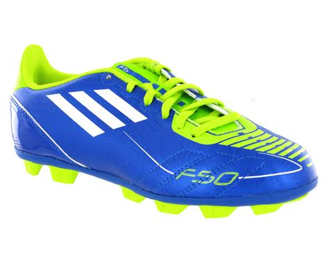 football shoes with studs new boys adidas f5 trx hg blue lime moulded studs football