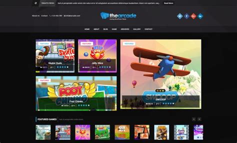 theme wordpress arcade games and gaming wordpress themes for march 2017 gt3 themes