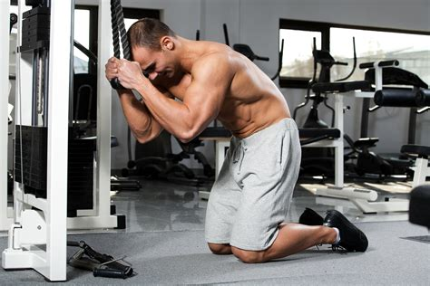 uberexercise cable crunch abs lean it up