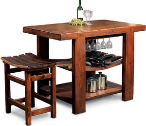 Kitchen Furniture Island Rustic Furniture Rustic Oak Russian River Kitchen Island