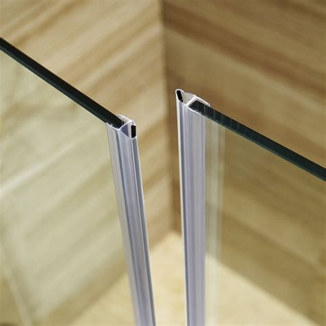 Shower Door Glass Seal Frameless Glass Shower Door Side Seal Doors Ideas