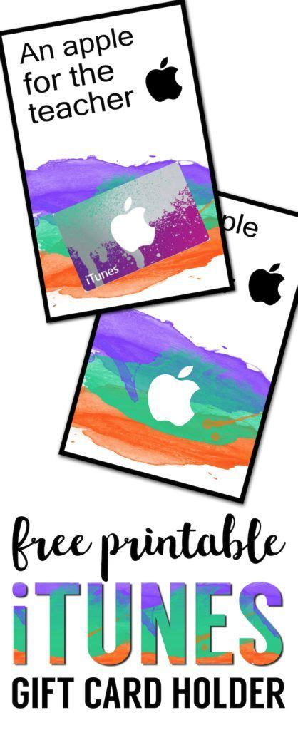 printable apple gift cards 17 best images about free printables on pinterest