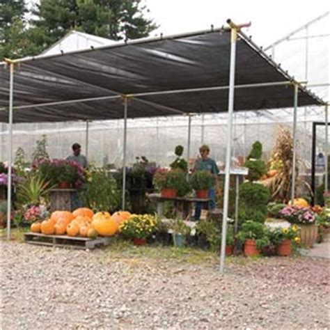 l shade frame supplies sunblocker economy shade systems frames only growers