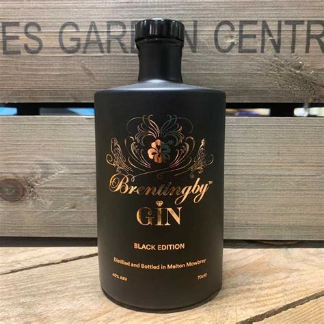 brentingby gin black edition cl