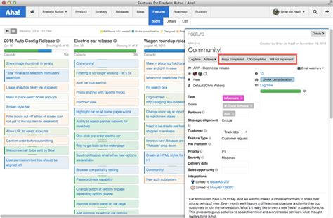 product management workflow add custom status workflow and feature types aha support