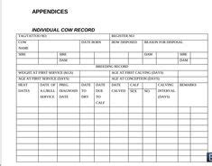 Cattle Spreadsheet Template Excel Cattle Pinterest Cattle Poultry Record Keeping Templates