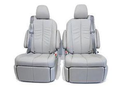 Toyota Reclining Seats For Sale Replacement Toyota Second Row Grey Leather Recliner