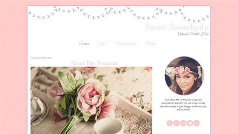 ivy themes themes blogger pink premade blogger template sweet serendipity