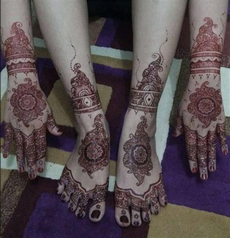 desain gambar henna tangan pengantin terbaru