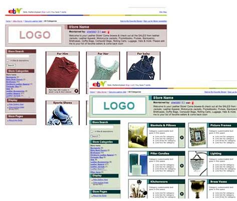 ebay store template ebay store templates how to choose ebay templates