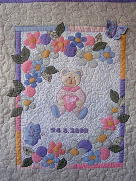 Baby Blanket Quilt Patterns by Ulla S Quilt World Quilted Baby Blanket
