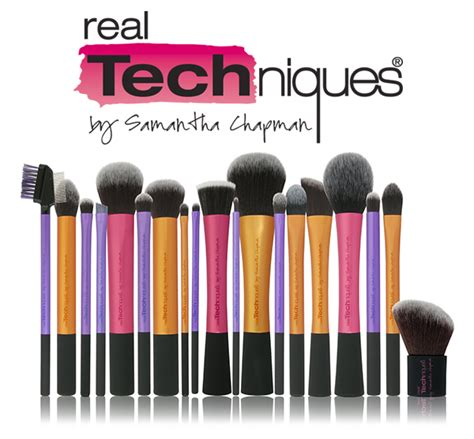 online tutorial real techniques real techniques brushes