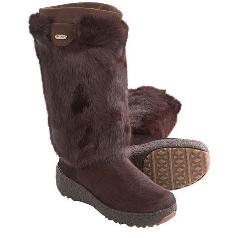 pajar winter boots pajar foxy snow boots shearling lining for