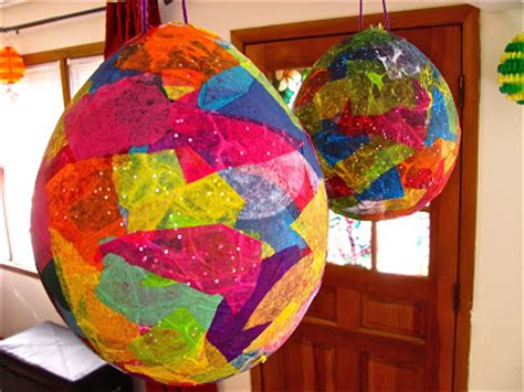 Paper Mache Crafts For Preschoolers - preschool crafts for paper mache easter egg pinata