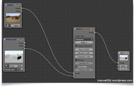 Blender Tutorial Depth Of Field | postprocessing depth of field on an image using blender