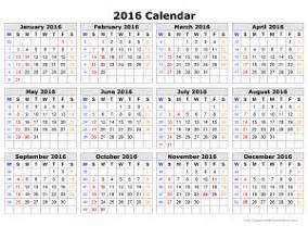 2016 Calendars To Print 8 12 X 11 » Home Design 2017