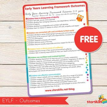 printable eylf templates download and print the eylf outcomes for your programming