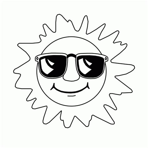 coloring in pages printable free printable sun coloring pages for kids
