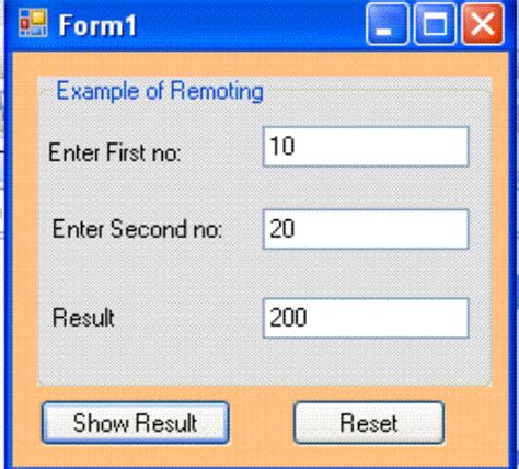 tutorial asp net c sharp remoting in asp net architecture of remoting how does net