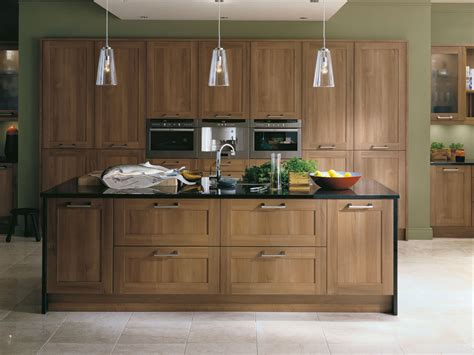 Walnut Kitchen Cabinets by Scope Walnut From Eaton Kitchen Designs Wolverhton
