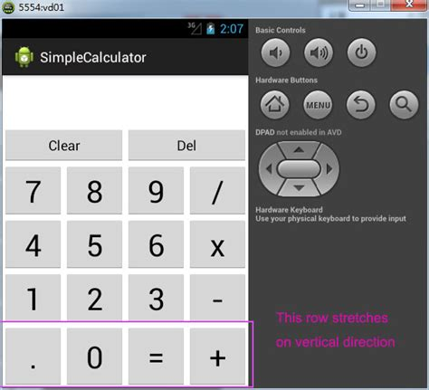 layout gridlayout android grid layout how to make my toy android calculator ui