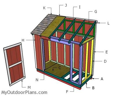 building   shed outdoor shed plans  diy shed