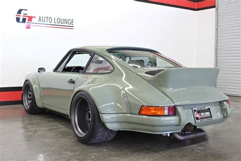 rauh welt porsche green rwb s porsche 911 turbo is mad bad and for
