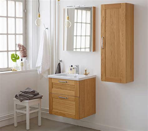 Miller Bathroom Furniture Miller 60 Oak Framed Mirror 60 5