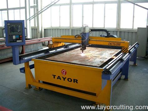 Cnc Plasma Cutter Table by Cnc Gas Plasma Cutting Machine From Shanghai Tayor Heavy