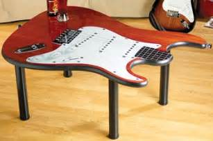 guitar coffee table for the home