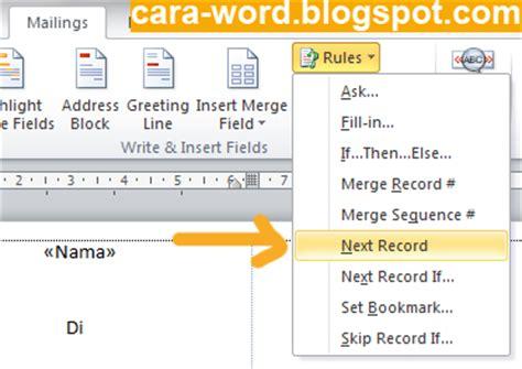 cara membuat undangan rapat di microsoft word cara membuat label undangan di ms word cara word