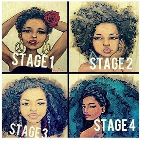 stages of natural hair stages natural hair pinterest