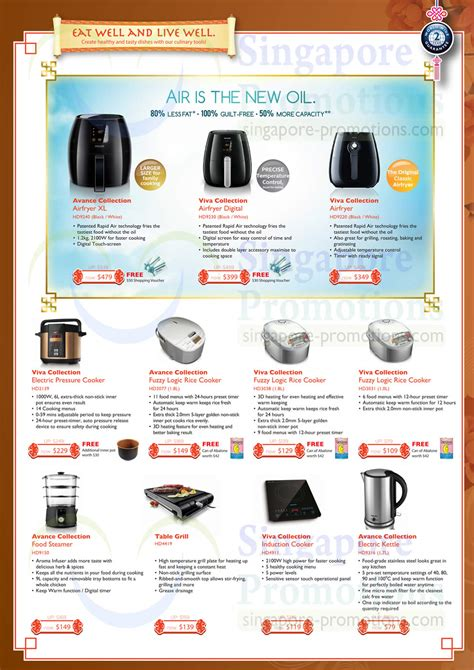 List Rice Cooker Philips airfryer pressure cooker rice cookers steamer grill