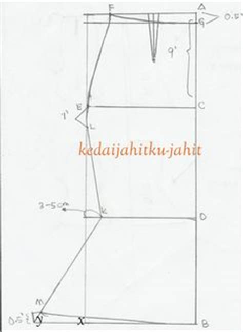 Pleated Skirt 692 Rok Midi Rok Kerja 1 ruang berkongsi quot quot dan quot ilmu jahitan quot pola kain