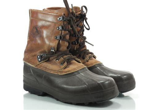 eddie bauer boots sorel eddie bauer mens boots brown leather rubber