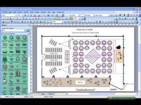 event layout tool event layout software demo youtube