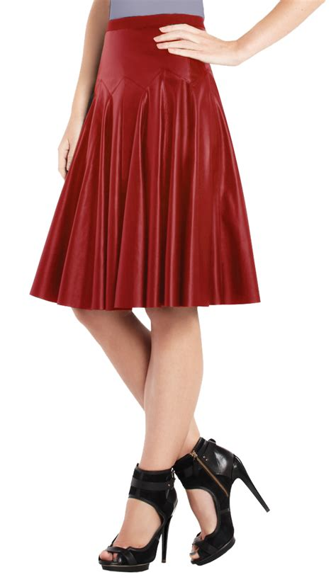 buy pleated frisky leather skirt