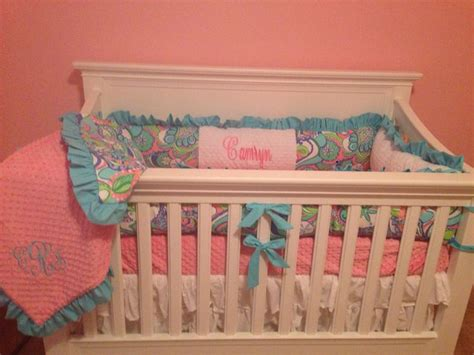 Lilly Pulitzer Crib Bedding Camryn S Lilly Pulitzer Custom Crib Bedding Camryn S Lilly Pulitzer Inspired Nursery