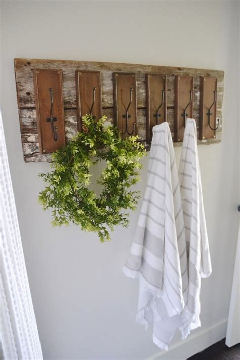 bathroom towel hooks ideas 31 brilliant diy decor ideas for your bathroom page 3 of 6 diy