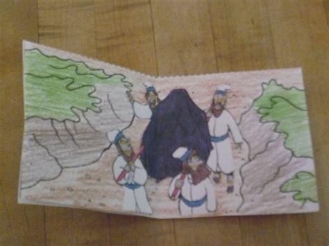 Crossing The Jordan Activity Sunday School Wilderness