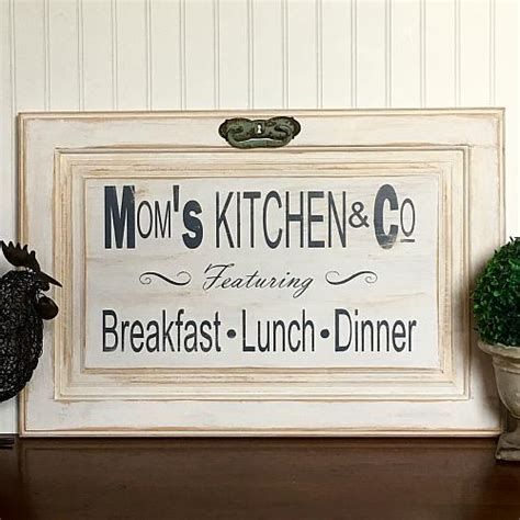 quot s kitchen co quot cabinet door sign project by decoart