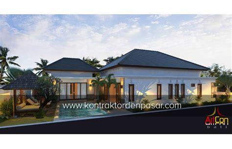 desain rumah 4 kamar luas 330 m2 jasa arsitek jakarta desain rumah 1 lantai luas 215 m2 4 kamar bu angelia