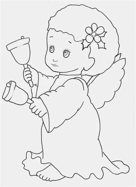 dibujos navideños para colorear grandes banco de imagenes y fotos gratis angeles de navidad para