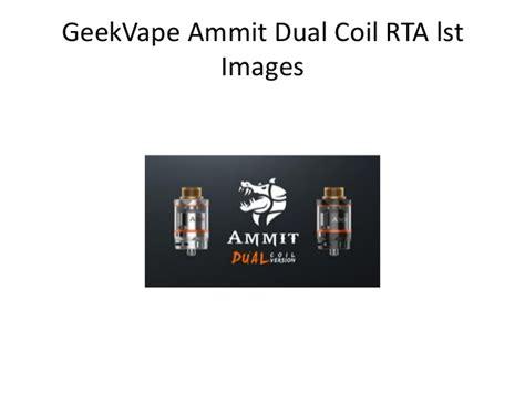 Ammit Dual Ss geekvape ammit dual coil rta vs geekvape ammit rta