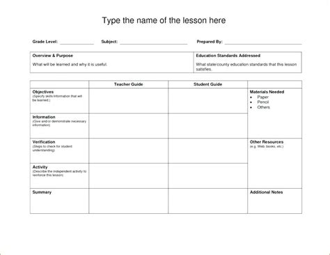 Blank Weekly Lesson Plan Template Word Free Templates Documents Download Voipersracing Co Weekly Lesson Plan Template Doc