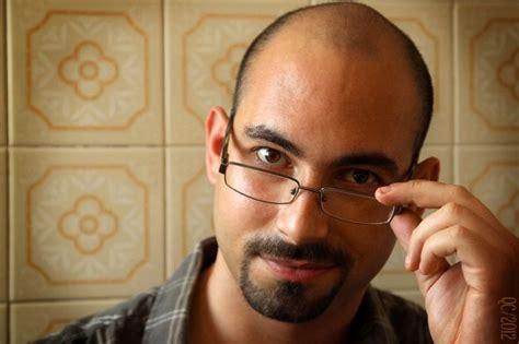 modern hairstyles for balding men round face bald with beard best beard styles for men with bald