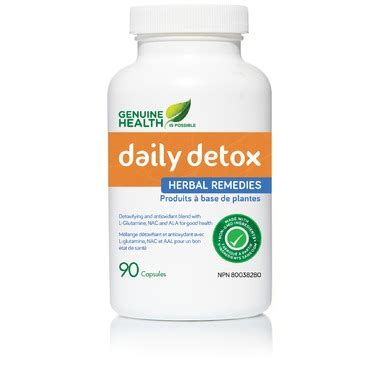 Genuine Health Daily Detox Review by Buy Genuine Health Daily Detox At Well Ca Free Shipping