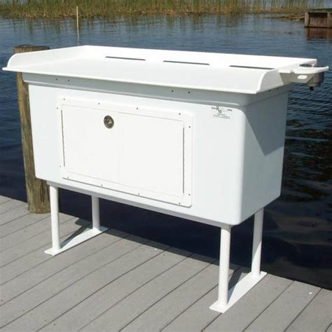 Fish Cleaning Station With Fiberglass Cabinet Fillet Table Fish Cleaning Tables