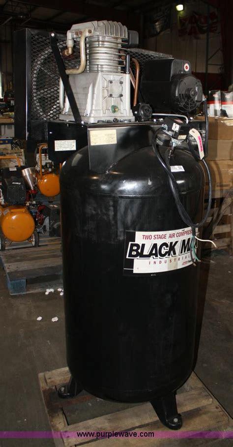 black max 80 gallon air compressor item 4905 sold novem